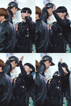 Hansol (the shortest member, along with Jenissi) bothering Nakta (the tallest member) never ends well.