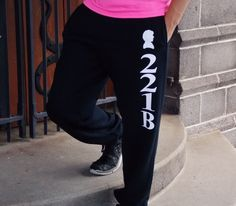 Relax in style with these Sherlock 221B Baker Street sweatpants. These unisex adult sweatpants feature a drawstring waist and elastic at the ankle. Available in Unisex size Small through XL.