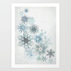 The+Forest+Drift+Art+Print+by+David+Fleck+-+$18.00