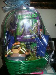 Ninja Turtles basket