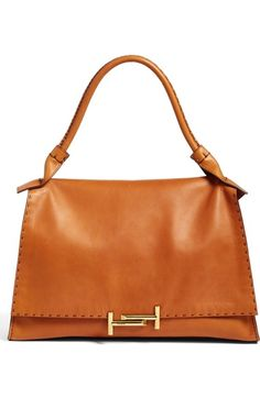 171ddfc783b0 TOD S Double-T Leather Shoulder Bag.  tods  bags  shoulder bags  hand bags   leather
