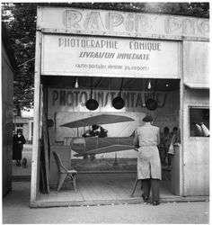 Photographie aérienne - 1950 de robert doisneau