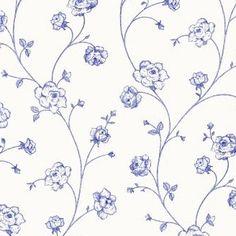 Esta Home Belle Rose Black & White 115712 x patroon lijmadvies: perfax blauw Esta Home behang Lines Wallpaper, Unique Wallpaper, Paper Wallpaper, Striped Wallpaper, Watercolor Pattern, Watercolor Flowers, Textile Patterns, Print Patterns, Textiles