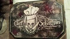 Chef Sebastion sign