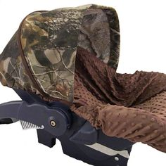 hunting camo infant car seat cover