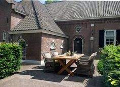 Landelijke diner tuinset - 4 Seasons Outdoor