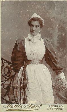 CDV Unidentifed Nurse, Newport or Swansea.