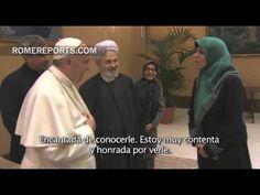 Francisco se reúne con la vicepresidenta y un grupo de mujeres de Irán
