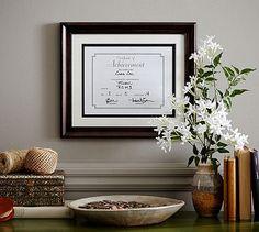 Diploma Frame #potterybarn