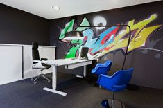 As Russia's largest social network with over 100 million users, V Kontakte is a massive online destination. The company partnered with Finnish design firmGullstén-Inkinen to create a youthful office in St. Petersburg.