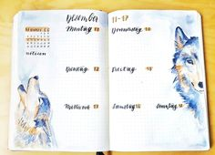 This week's spread is all about wolves. @thebulletbulb