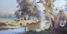 Home - Ross Paterson Watercolor Landscape, Landscape Art, Landscape Paintings, Watercolor Paintings, Watercolors, Australian Painting, Australian Art, Cool Landscapes, Studio Portraits