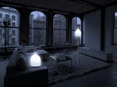 Lampadaire LED en polyéthylène SMOON CAGE NOMAD Collection Smoon by Beau