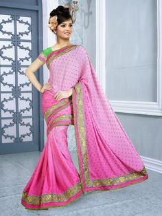 Different color combinations and attractive look enrich the demand of our sarees in the market. We are committed to supply the product as per the demand of the clients.These Designer Sarees are available in the market in various colors. Further, we ensure to provide best quality products to customers at most reasonable rates. Designer Sarees are elegant in design.