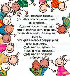 Cada niño es único y especial, visita nuestro #Blog de cuidado #infantil en www.cuin.com.mx Somos niñeras profesionales en cuidado infantil.