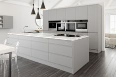 Matt Kitchen light grey