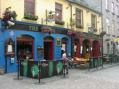 Galway, Ireland - The Quays Pub - A Must Visit For Tourists Seeking A Real Irish Shindig!