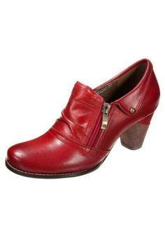 LAURA VITA RESSAC - Ankle boots - red