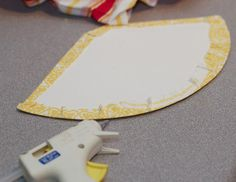 DIY Project: How to Make a Fabric Covered Party Hat | TikkiDo.com