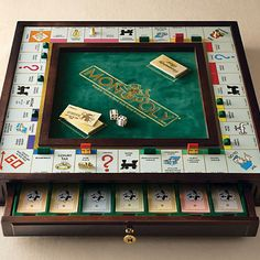 Monopoly premier collector's edition. I want it, a lot. Christmas wish list.