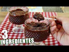 Receita: Como Fazer Mousse de chocolate aerado - YouTube