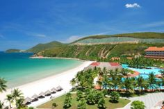 Quiet, peaceful and freshly cool environment also make #TraCo Beach more #charming.