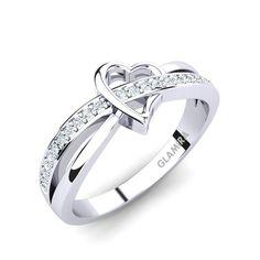 Verlobungsringe - GLAMIRA Ring Amelie