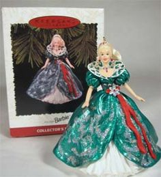 1995 Holiday Barbie Ornament