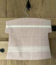 Susie Watson Peg Bag - Pale Rose Stripe Washing Pegs, Susie Watson, Peg Bag, Wooden Hangers, Laundry Room, Home Accessories, Room Decor, Rose, Pattern