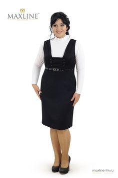20-98 сарафан (размеры 50-56) - Платья женские - Maxline - одежда оптом от производителя из Киргизии