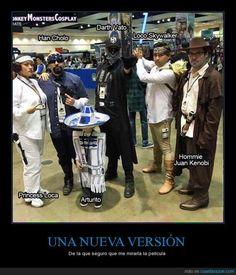 Star Wars en versión mexicana mola más de lo que creerías ;) - De la que seguro que me miraría la película
