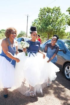 Katlego & Lebogang's Traditional Wedding {Rustenburg} Wedding Dresses South Africa, African Wedding Attire, South African Weddings, Pakistani Wedding Dresses, African Attire, Wedding Hijab, Nigerian Weddings, African Bridesmaid Dresses, African Print Dresses