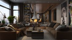 Roohome.com -�Do you want to arrange your spacious home design? What kind of design that you want? If you still do not know, now we will help you to solve your problem. We suggest you applying a luxury�home decor�that looks so remarkable with an artistic decorating idea�in it. The designer ...