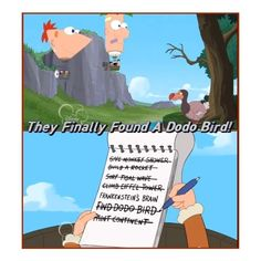 phineas and ferb | Tumblr ❤ liked on Polyvore featuring funny