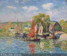 Henry MORET (1856-1913) Quimper le quai