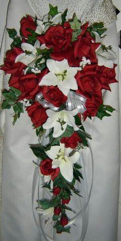 Cascading bouquet!