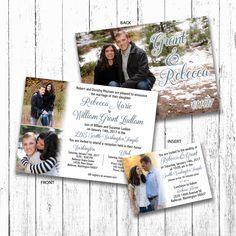 Rebecca & Grant Wedding Announcement