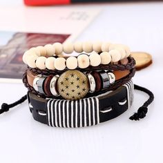 This is a great hit: New Fashion Style... Its on Sale! http://jagmohansabharwal.myshopify.com/products/new-fashion-style-leather-bracelets-wood-beads-weave-wrap-hemp-rope-bracelet-for-male-and-female-3pcs-1-set?utm_campaign=social_autopilot&utm_source=pin&utm_medium=pin