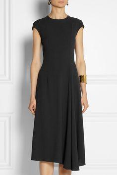 The Row Koto crepe dress NET-A-PORTER.COM