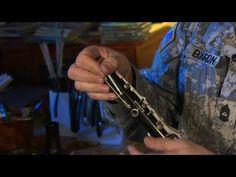 Stuck Screws and Rods: Clarinet Instrument Repair - YouTube