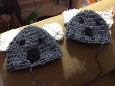 Gorros Koala crochet
