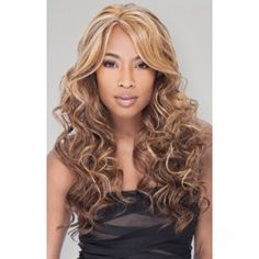 Equal Invisible Part Wide Lace Front Wig Vanessa