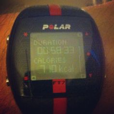 Burnt 710 calories in an hour! Great gym session!!! #gym #fitness #fitnessmotivation #workhard #nopain #nogain #healthylife #healthy #polarwatch #polar #watch