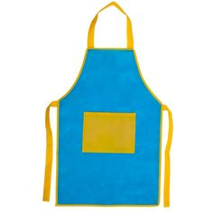 Attractive deals with a logo print services on vast range of promotional Kitchen apron for kids from the UKs leading providers of promotional products and business giveaways Soft Shell, Apron, Color Azul, Marketing, Straw Hats, Kitchen Aprons, Corporate Gifts, Personalized Aprons, Bebe