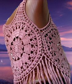 Crochet top crochet beach top crochet fashion crochet