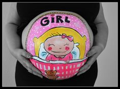Bellypaint Blond Amsterdam Belly painting