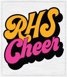 9121 Retro Cheer T-shirt Cheerleading Shirts, Cheer Stunts, Cheer T Shirts, Big Shirts, High School Cheerleading, Cheerleading Stunting, Team Shirts, Varsity Cheer, Football Cheer