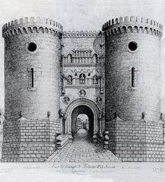 Puerta monumental de Capua. Federico II Friedrich Ii Staufer, Roman Emperor, History, Building, Travel, Image, Gothic Art, Construction, Voyage