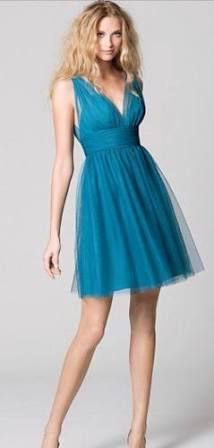 knee length teal sundress - Google Search