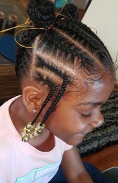 Little Girls Natural Hairstyles, Toddler Braided Hairstyles, Little Girl Braid Hairstyles, Toddler Braids, Black Kids Hairstyles, Little Girl Braids, Baby Girl Hairstyles, Beautiful Hairstyles, Toddler Braid Styles
